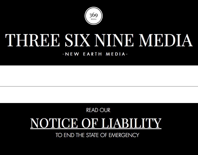 three six nine media Notice of Liability