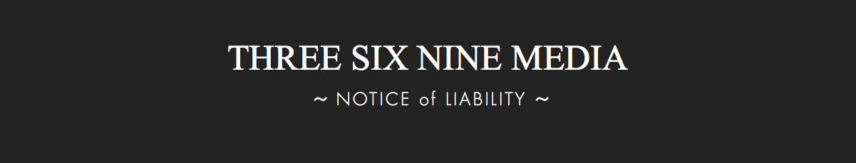 369 Media Notice of Liability