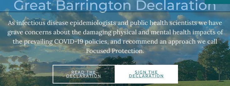 The Great Barrington Declaration
