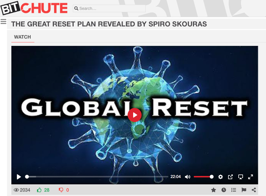 The Great Reset - Overview by Spiro Skouras
