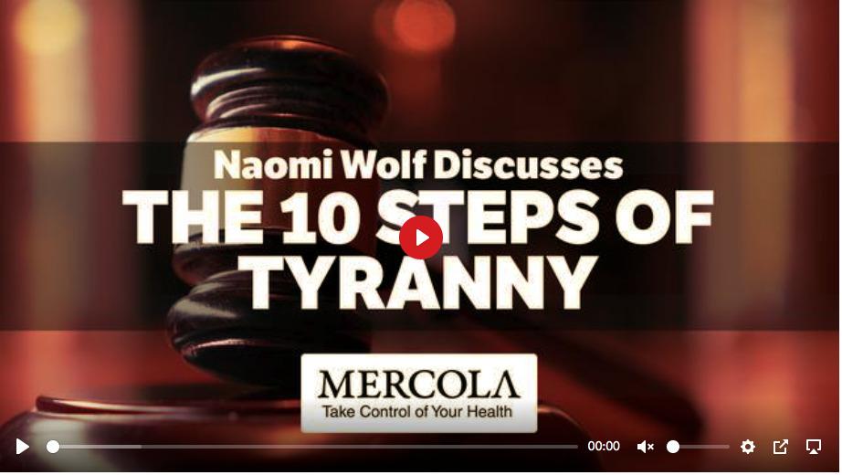 10 Steps to Tyranny by Naomi Wolf