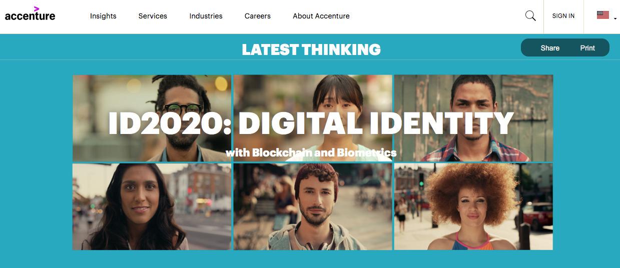 Accenture ID2020 Canada Alliance