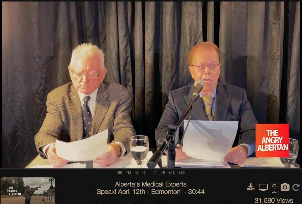 Alberta's Medical Experts Speak! April 12 2021 - Edmonton
