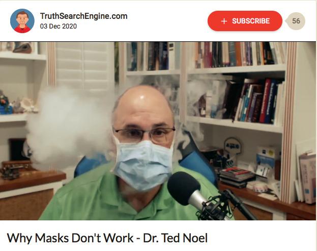 Why Masks Don't Work - Dr. Ted Noel
