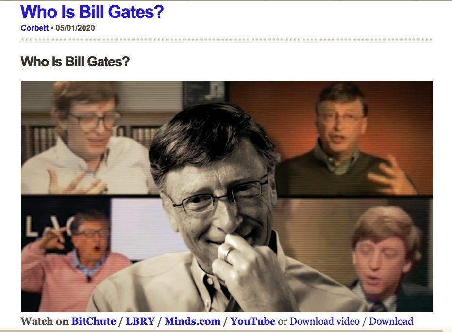 Who is Bill Gates - 4 part series by Corbett Report