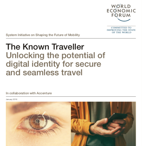 The Known Traveller Digital ID Initiated by the WEF in 2018