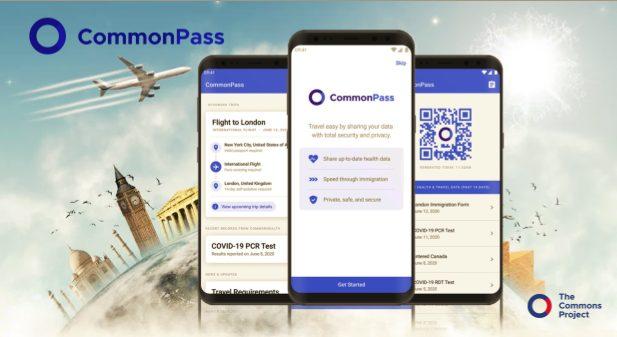 Common Pass Digital Health Pass